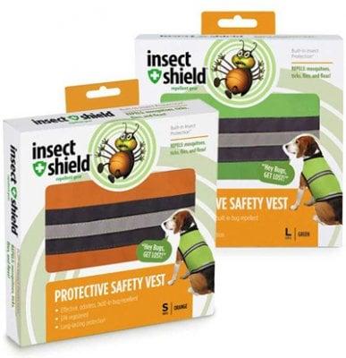 3ced5511 Insect Shield® refleksvest hund (S/M) - Stick.no